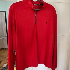 Ralph Lauren Performance men's XXL sweatshirt polo has mark on it preowned